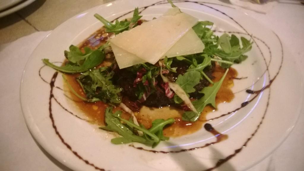 La Sirena makes an awesome Italian meal!