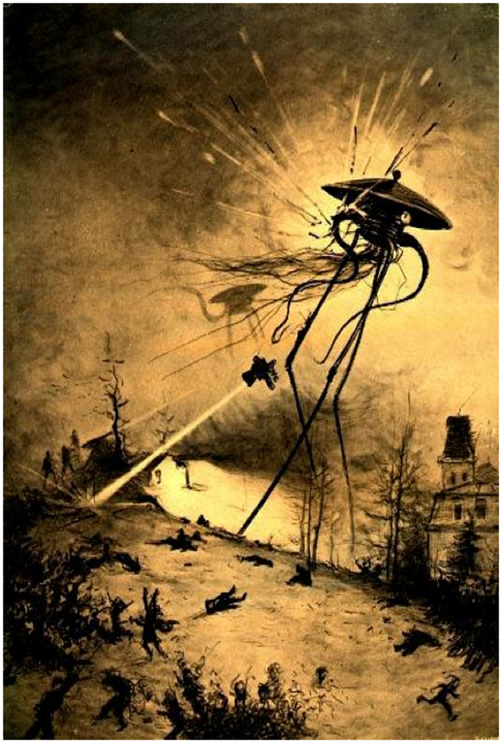 The War Of The Worlds ...