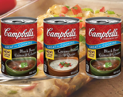 Campbells Soup Products Made in NJ