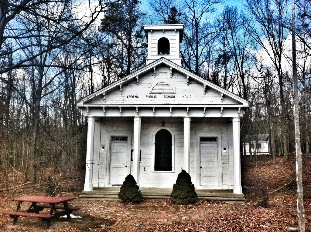 Old Ardena Schoolhouse Central NJ Historical Landmarks,