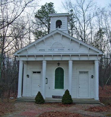 Old Ardena Schoolhouse Historical NJ Sites