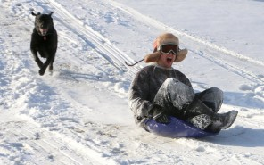 Best Places to Go Sledding on the Jersey Shore