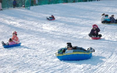 Holmdel Park Great Places to Sled on the Jersey Shore