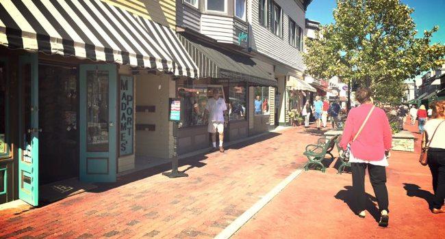 Madames Port Shopping Stores at the Cape May NJ Shore