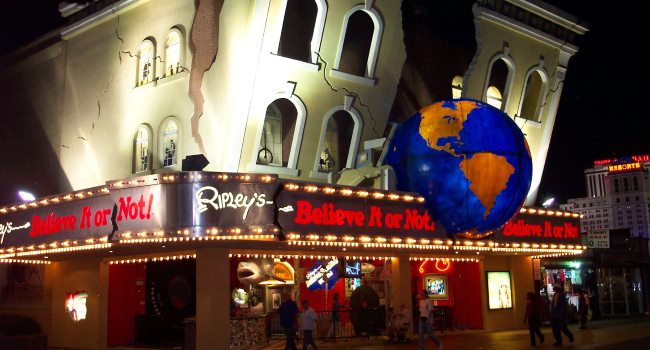 Ripley's Believe it or Not Best Southern NJ Shore Attractions Open in the Winter