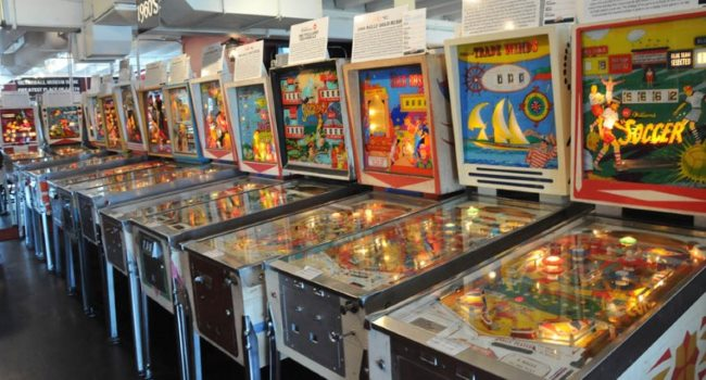 Silverball Museum Arcade Fun Places to Bring Kids by the NJ Beach in the Winter