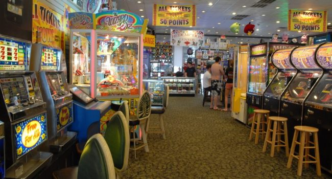 Sonnys and Rickeys Arcade Awesome NJ Shore Point Businesses Open in the Winter