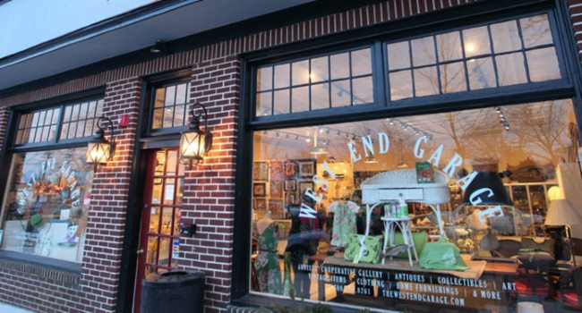 West End Garage Fun Places to Shop for the Holidays in Cape May NJ