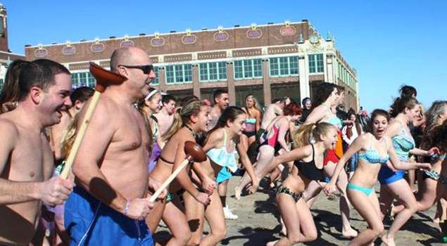 Asbury Park Rotary Club Plunge Events in Monmouth County NJ