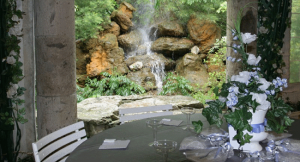 Garden Falls unique outdoor party venue