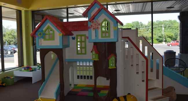 Custom tree house for kids in NJ