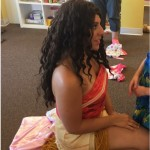 Moana visit at Mama Bears Play Cafe in NJ