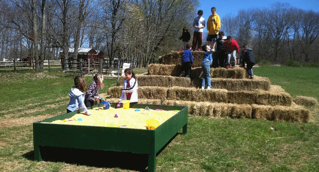 Ort Farms in Long Valley, New Jersey kids party place